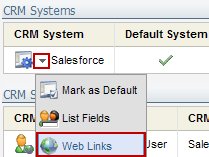 Eloqua Salesforce Integration Web Links