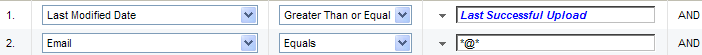 Eloqua SFDC transfer values