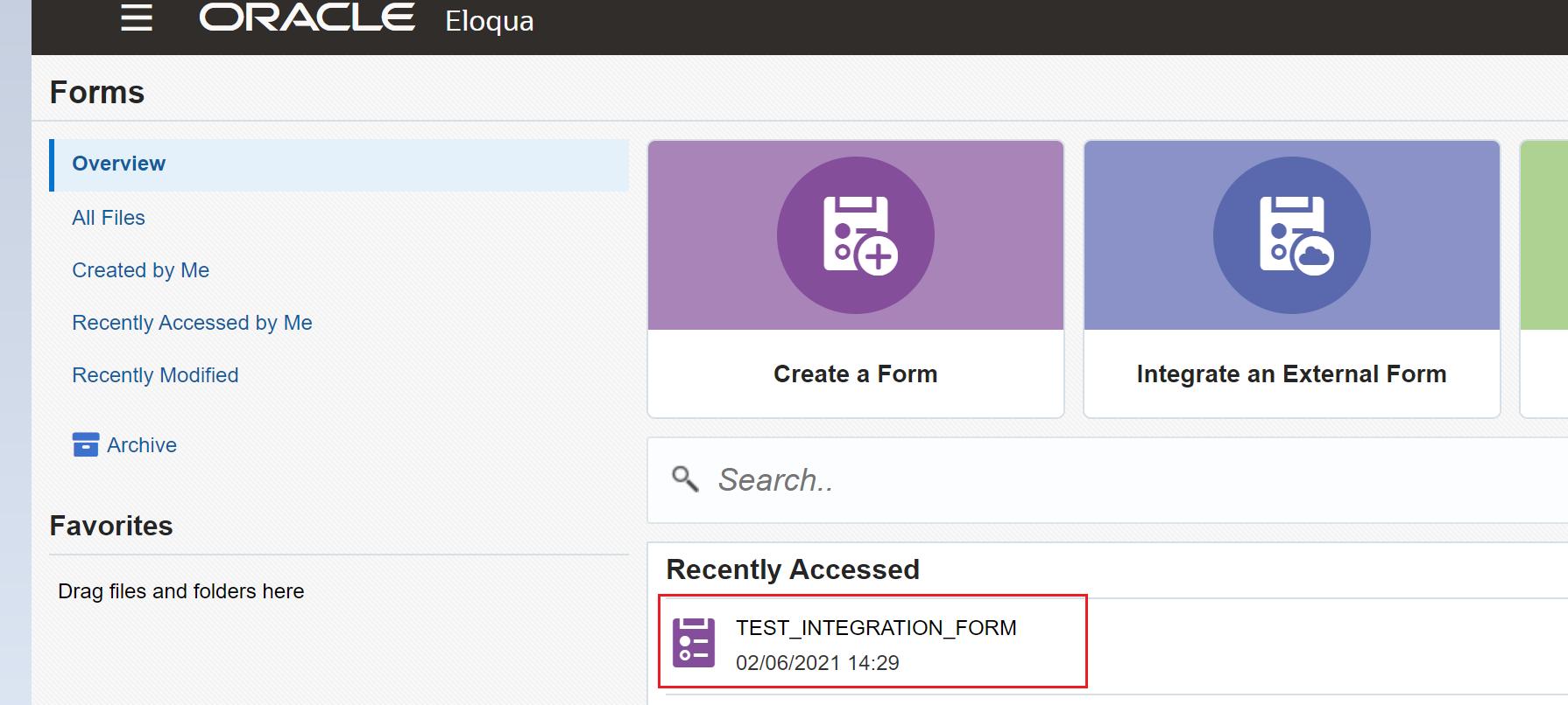 Eloqua form spam protection